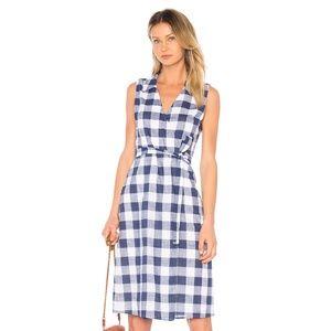 NEW L'Academie The Sleeveless Dress Blue Small E48